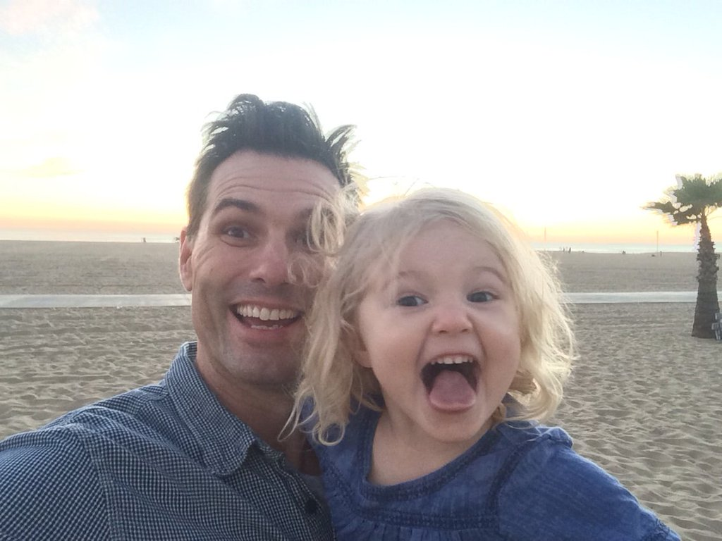 As The World Turns Austin Peck Shares Hilarious Moment With Daughter Kiera Soaps In Depth