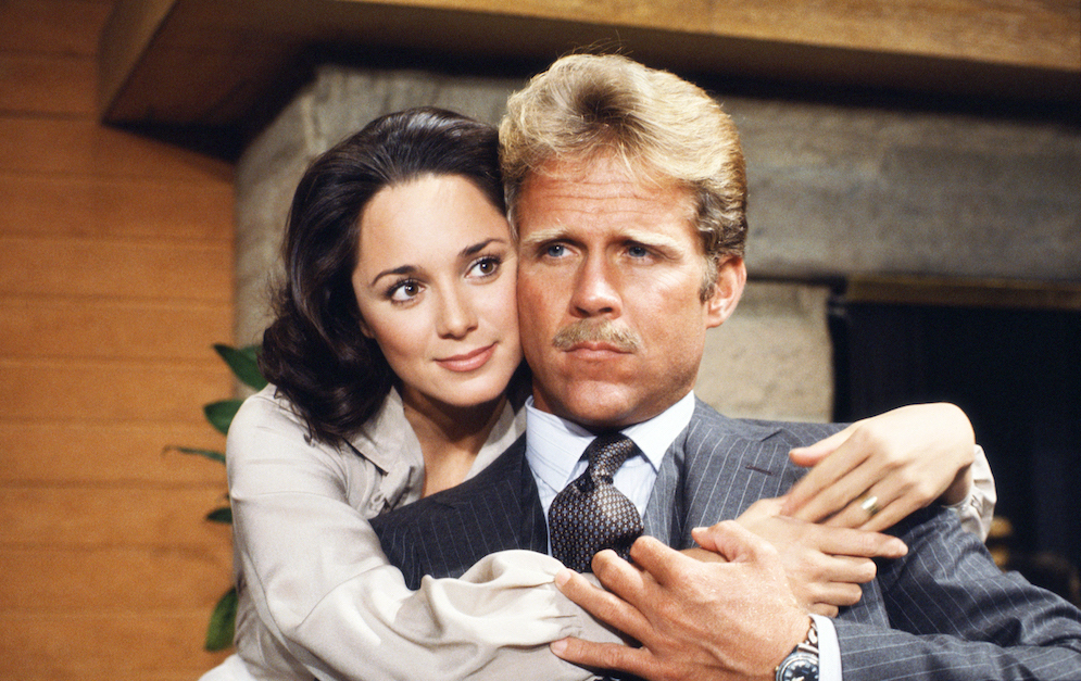 Y&R Leslie and Lucas - CBS/Getty
