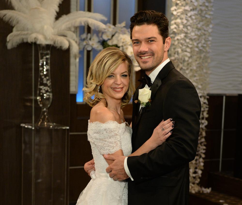 GH Maxie and Nathan Wedding Photo - ABC