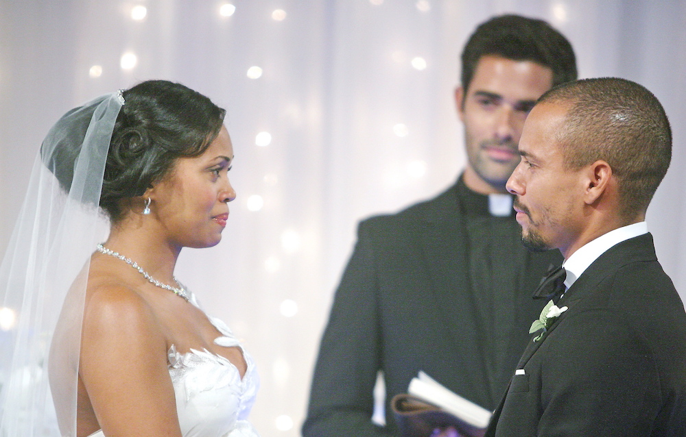 The Young and The Restless Hilary and Devon wedding