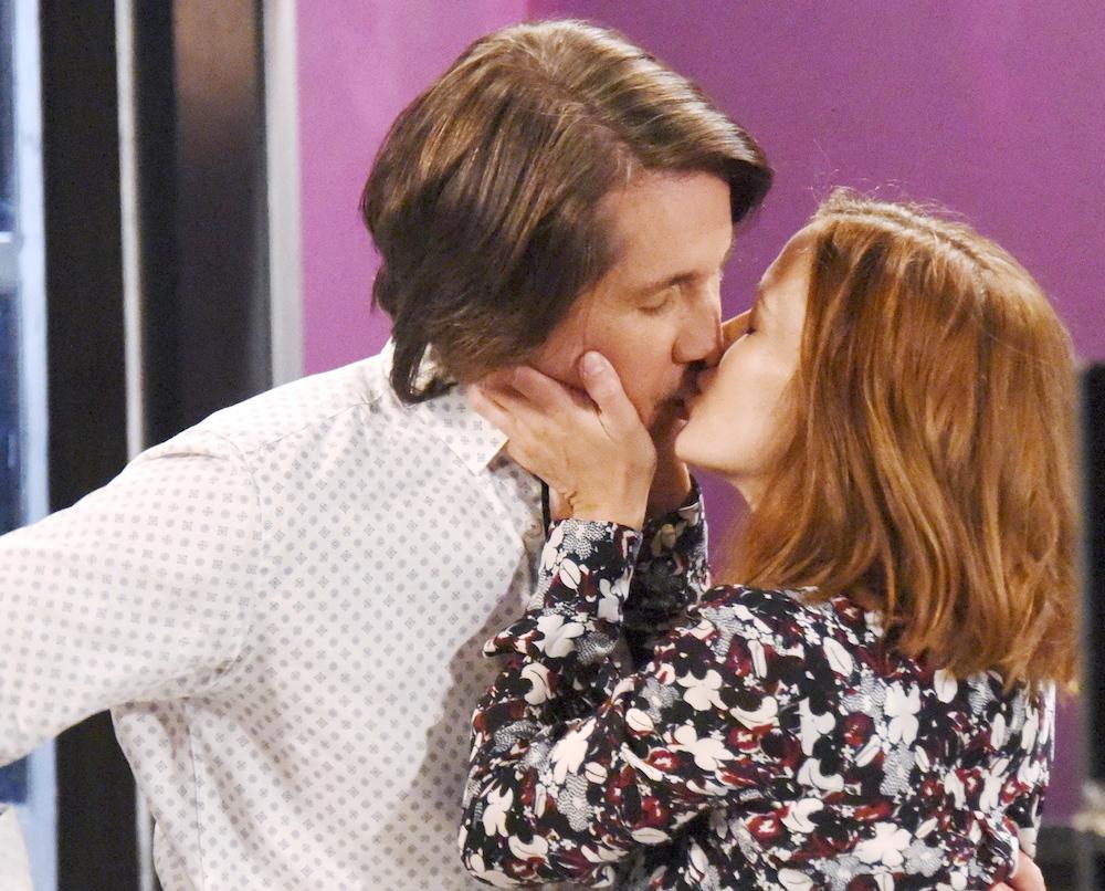 GH Finn Hayden kiss