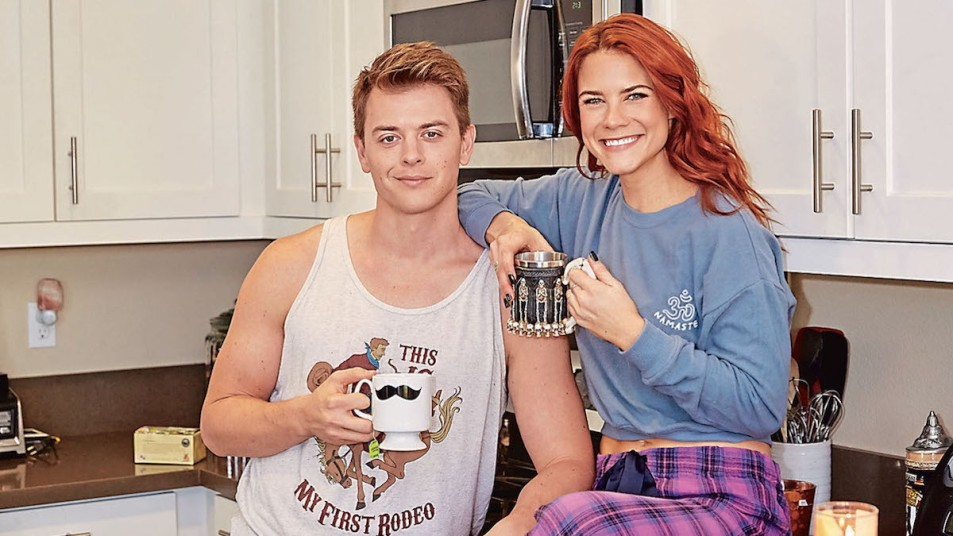 Chad Duell Courtney Hope home