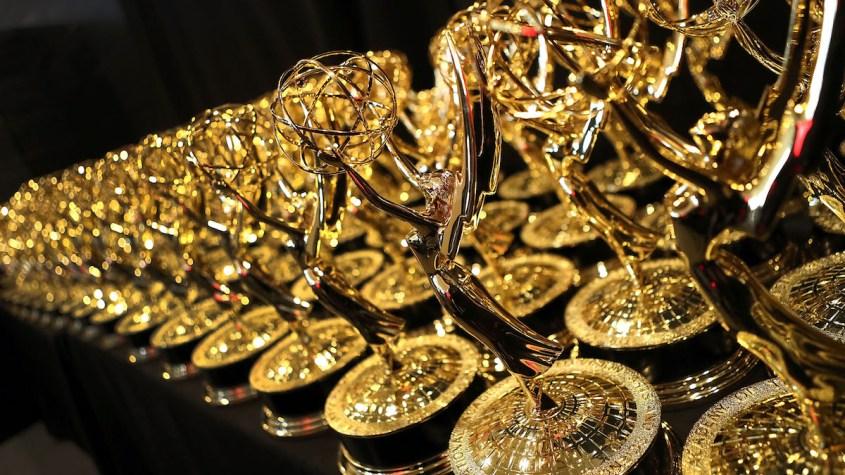 Emmy Award trophies