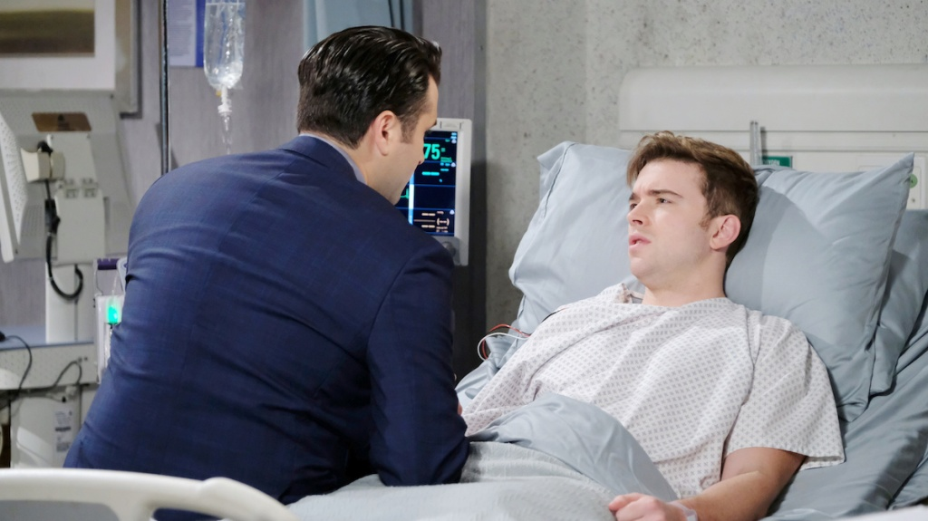 Days of Our Lives Sonny Will hospital