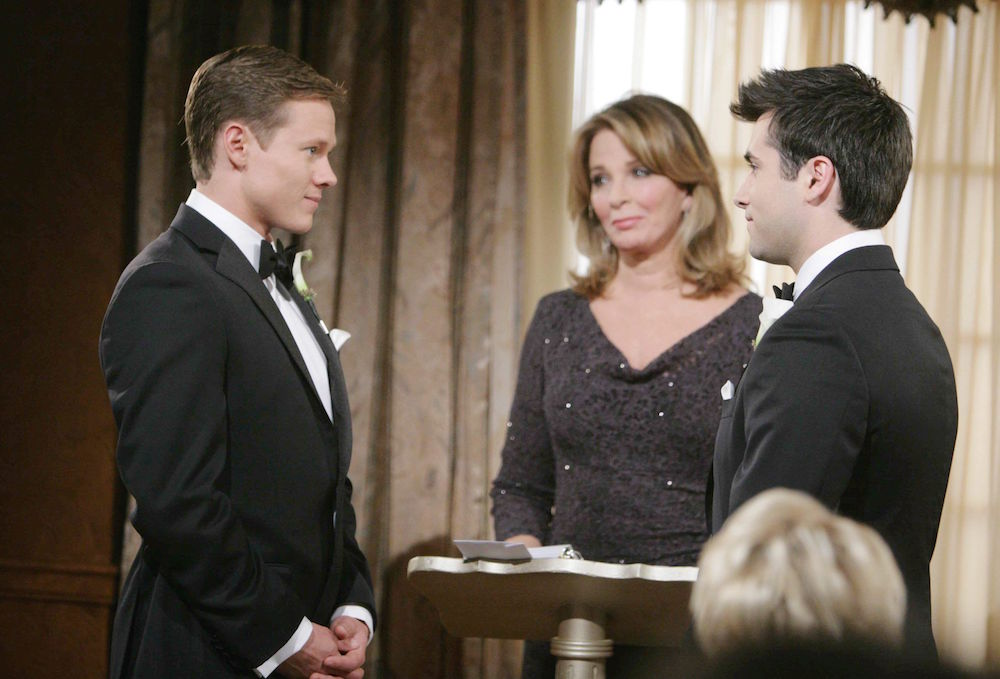 Days of Our Lives Sonny and Will's wedding