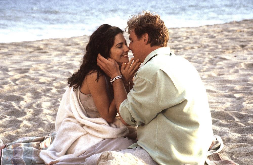 GH Brenda & Jax on the beach - ABC/Getty