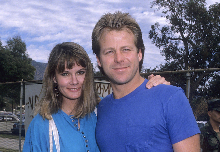 General Hospital Lynn Herring and Kin Shriner