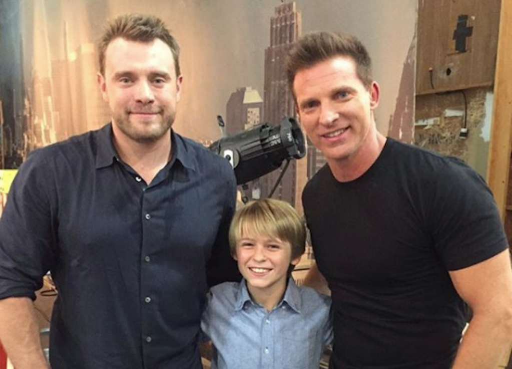 Billy Miller Hudson West Steve Burton