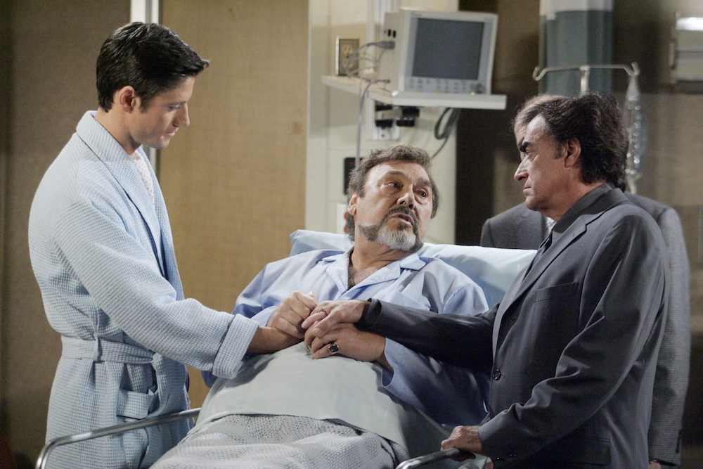 Days of Our Lives EJ Stefano Tony