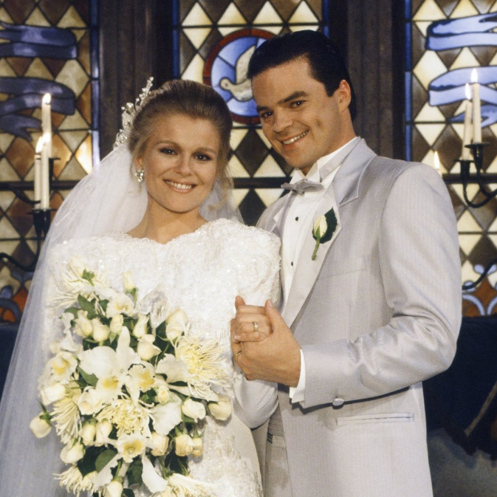Days of Our Lives Adrienne Justin wedding