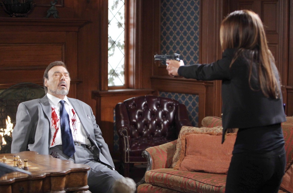 Days of Our Lives Hope shoots Stefano.