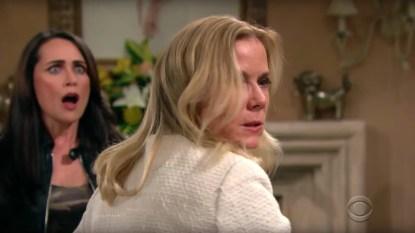 B&B Brooke slaps Shauna