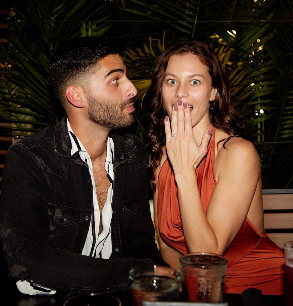 Jason Canela Janaina engaged