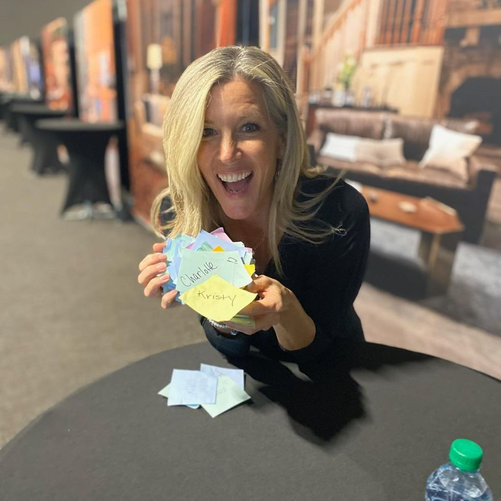 Laura Wright GH Fan Event Postits