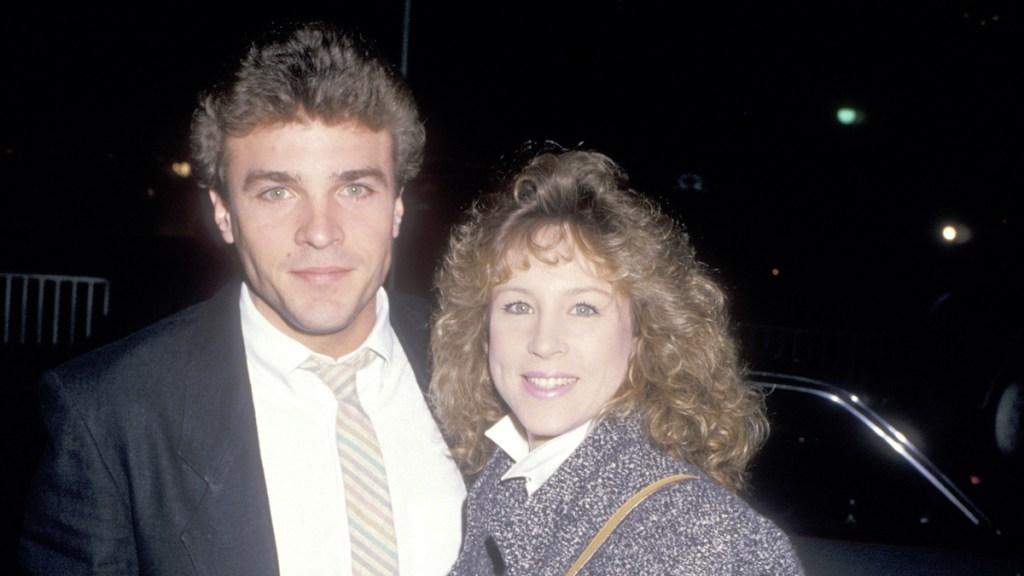 John J York Wife Vicki 1988