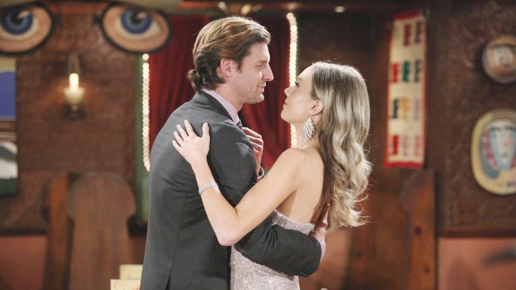 Y&R Abby Chance dance