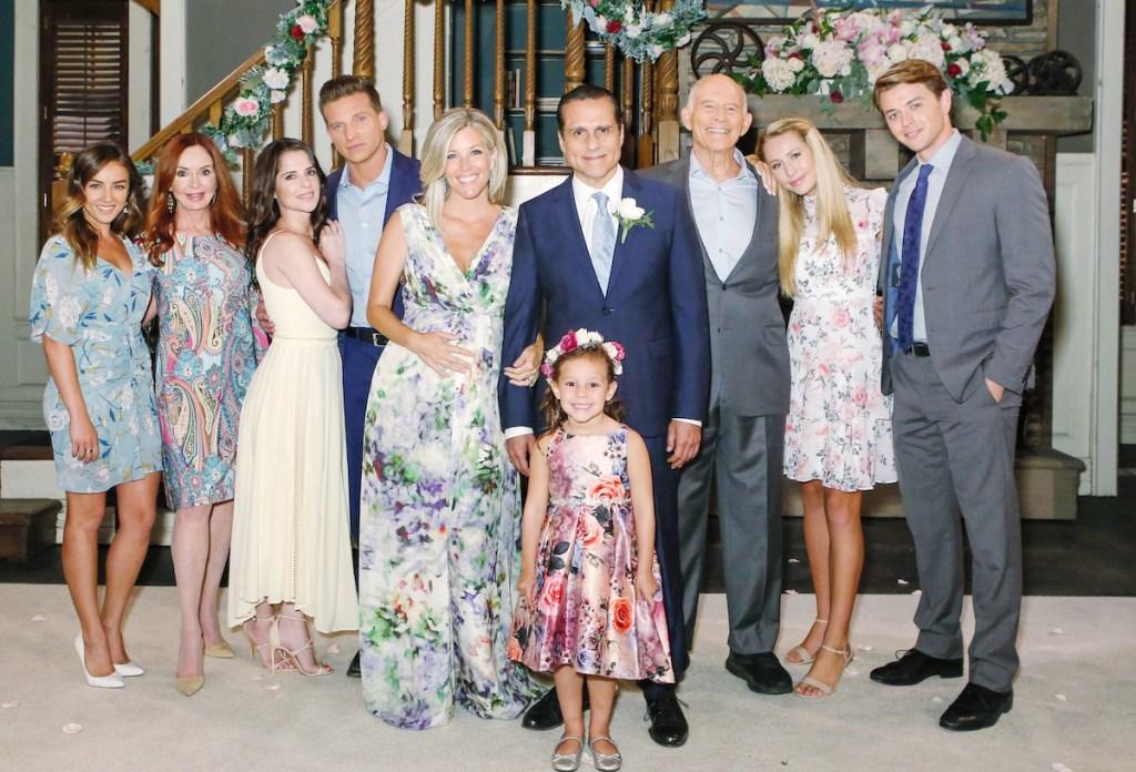 Sonny Carly wedding family