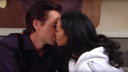 Y&R Billy Amanda kiss