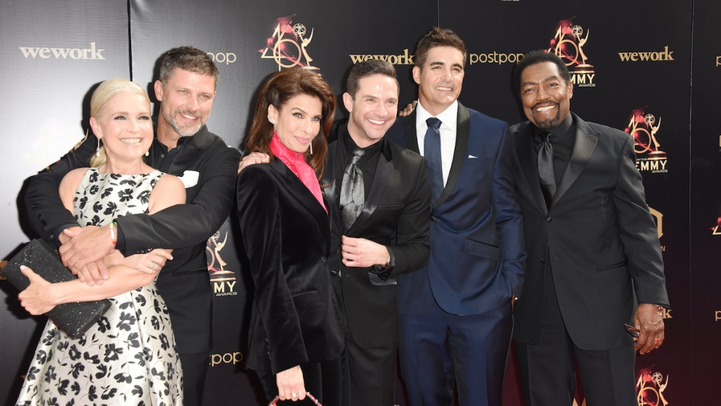 DAYS Emmy red carpet group