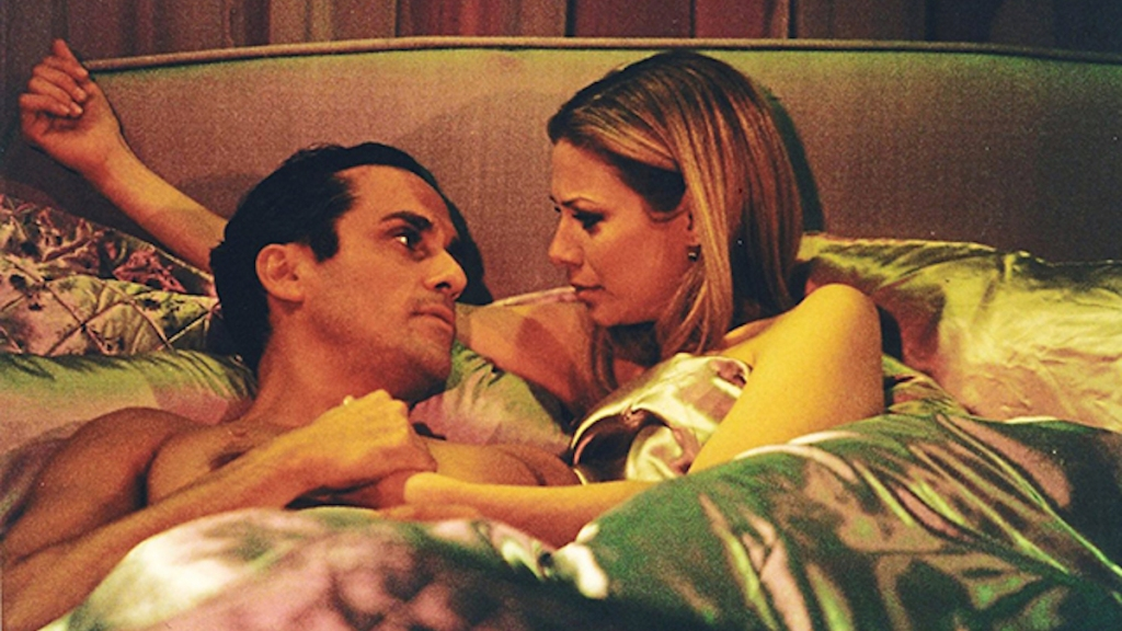 GH Sonny Carly in bed