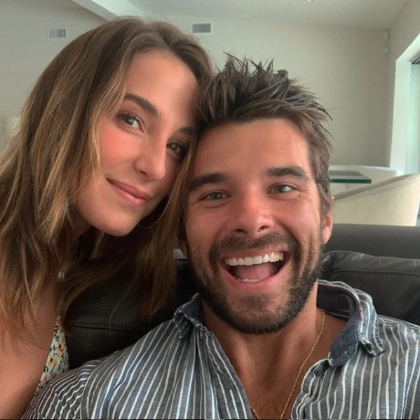 Josh Swickard wife Lauren Easter 2020