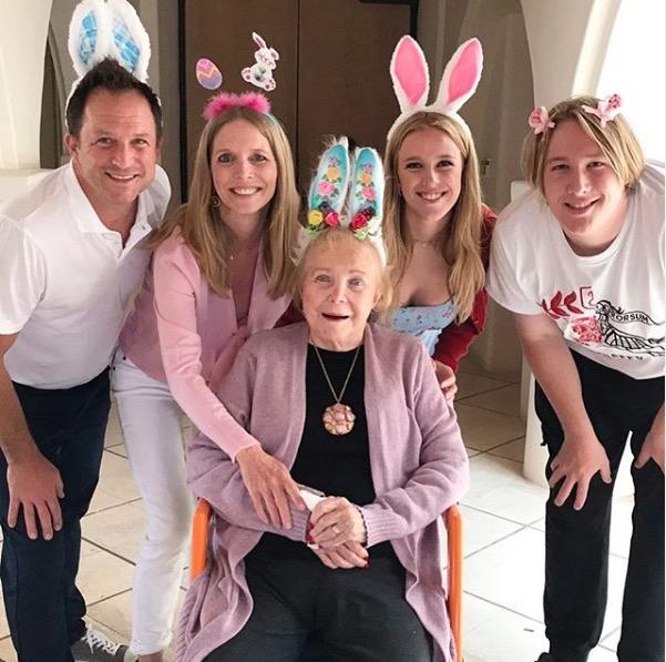 Lauralee Bell family Easter