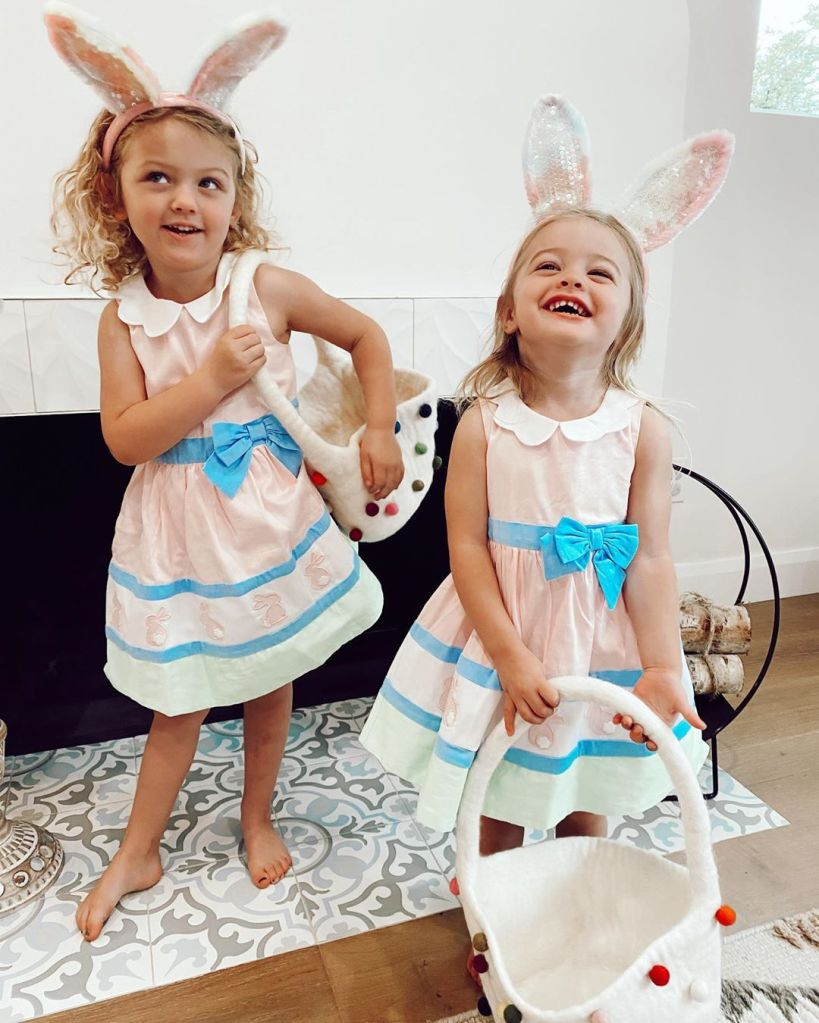 Melissa Ordway daughters Easter 2020