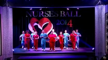 GH Nurses Ball 2014 opening