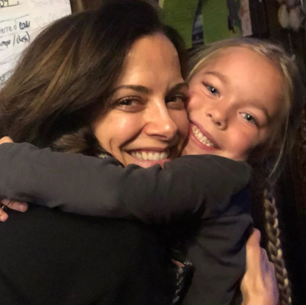 Rebecca Budig Jophielle Love hug