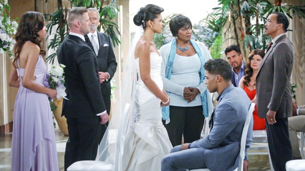 B&B Julius interrupts Maya's wedding