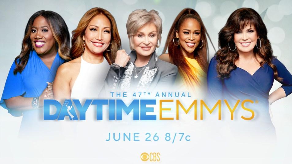 The Talk Hosts Daytime Emmys