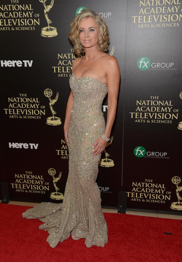Eileen Davidson 2014 Emmys
