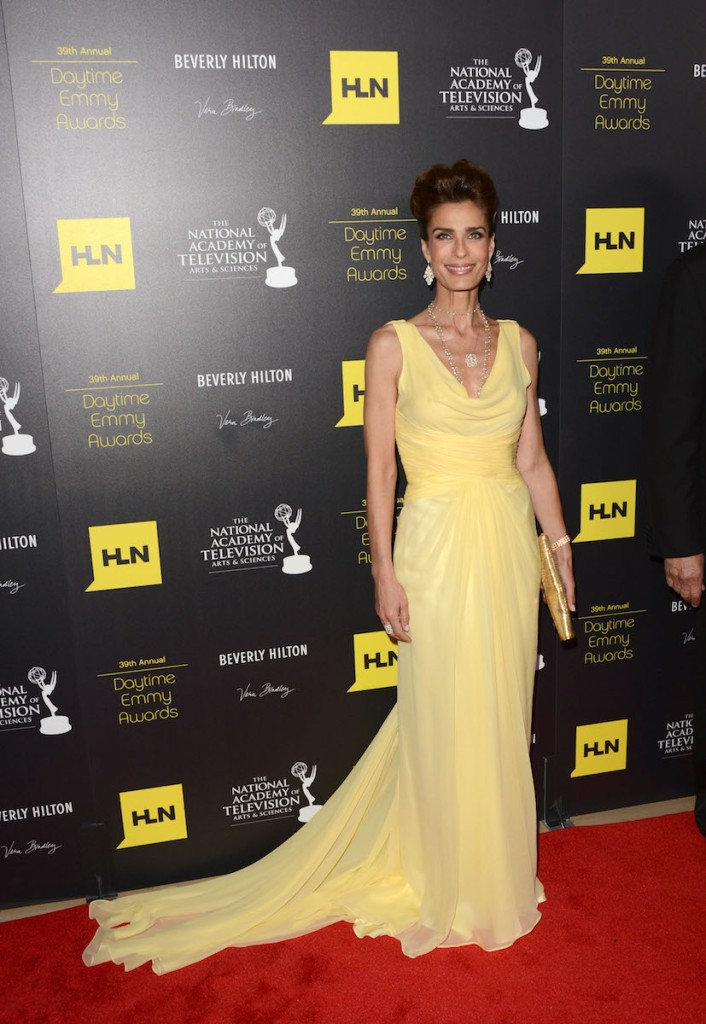 Kristian Alfonso 2012 Emmys