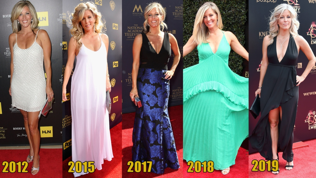 Laura Wright Emmy looks