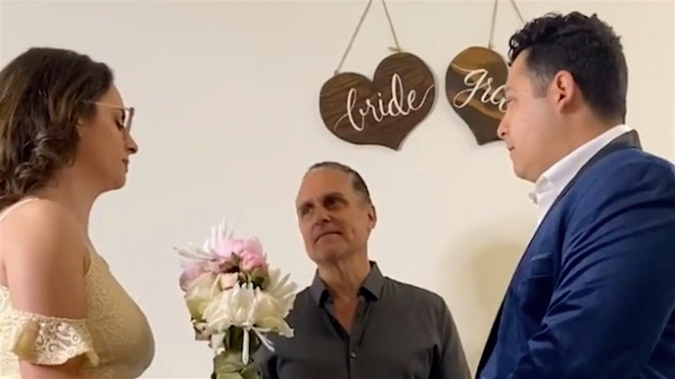 Maurice Benard Cailey wedding