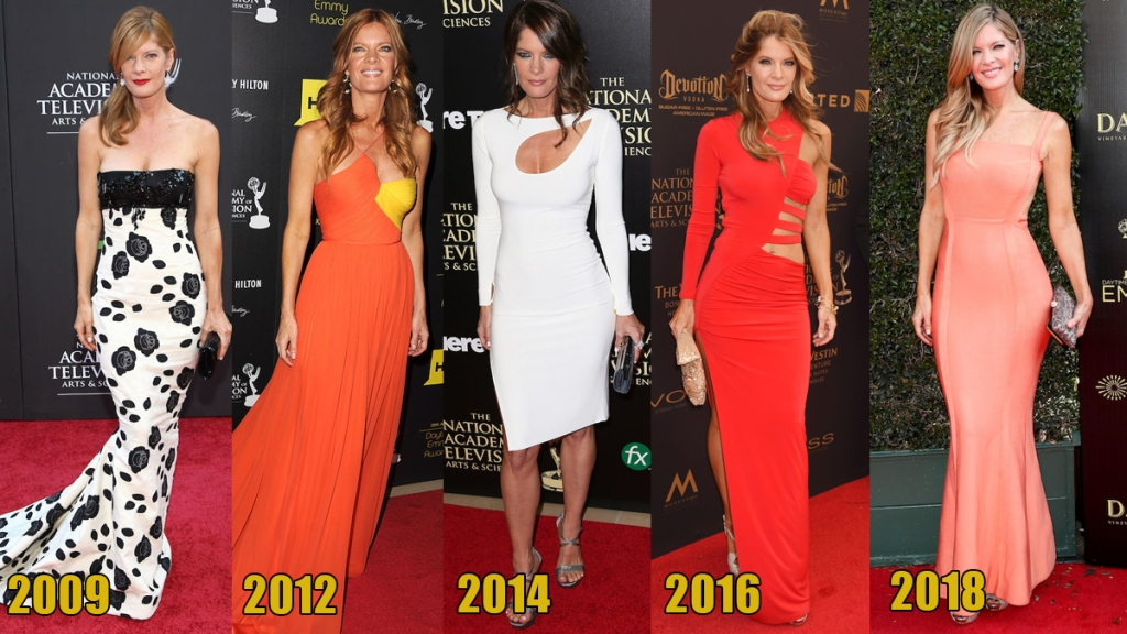 Michelle Stafford Emmy looks