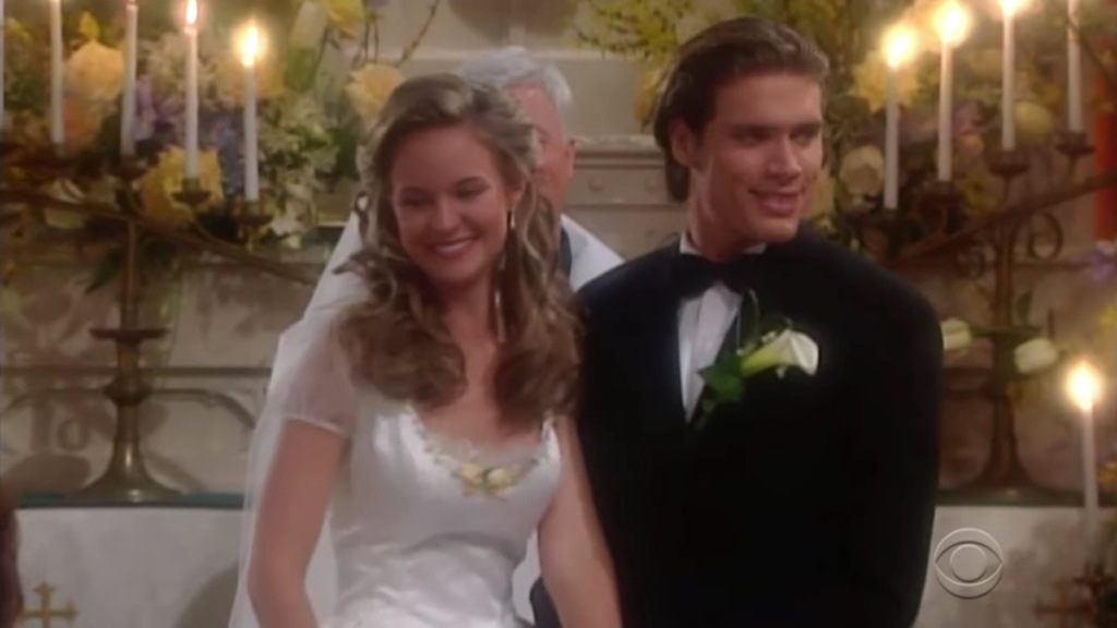 Y&R Sharon Nick wedding