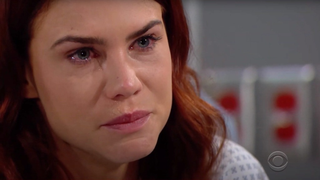 B&B Sally Crying