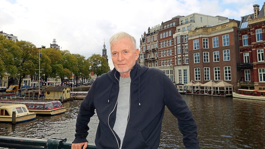 Anthony Geary in Amsterdam