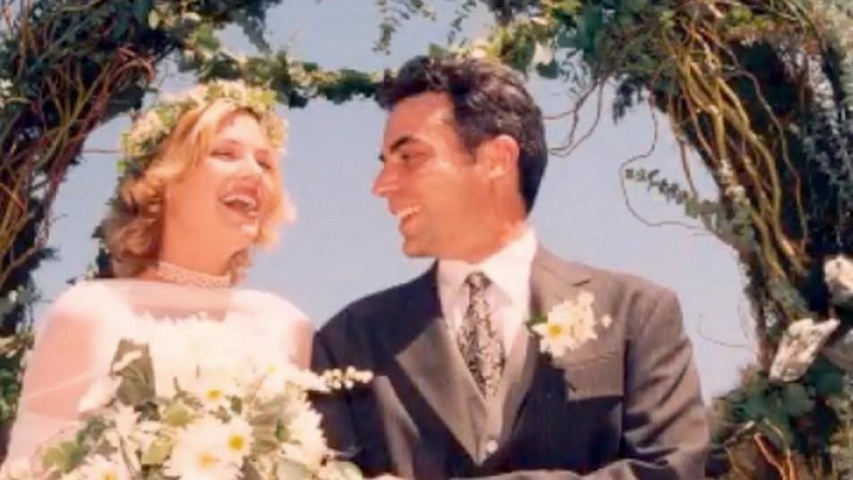 Megan Ward wedding