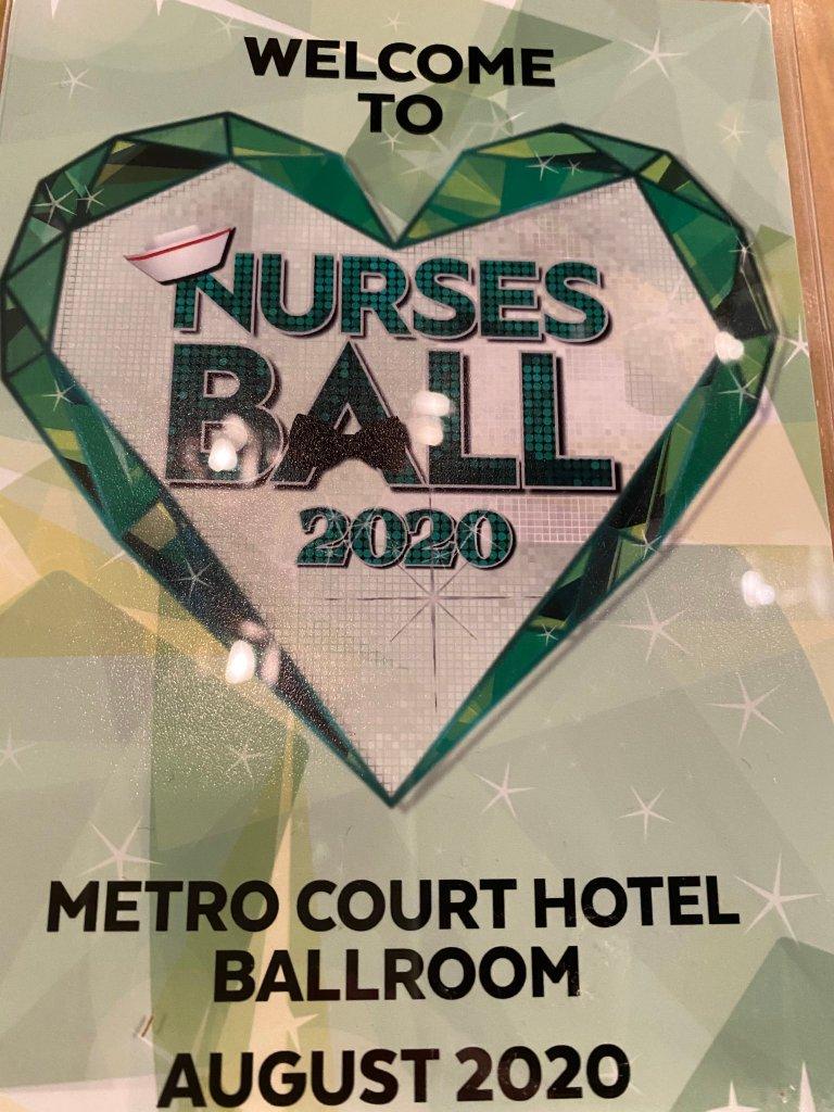 GH Nurses Ball 2020 poster