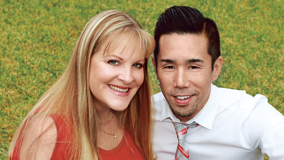 Parry Shen wife Kim
