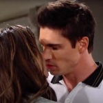 B&B Steffy Finn kiss