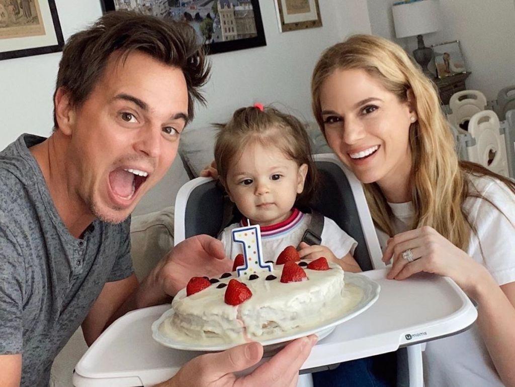 Darin Brooks Kelly Kruger Everleigh cake