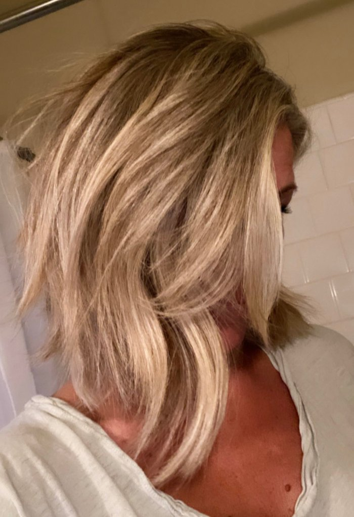Laura Wright haircut 01