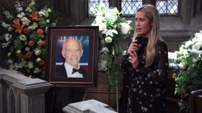 GH Josslyn singing Mike funeral