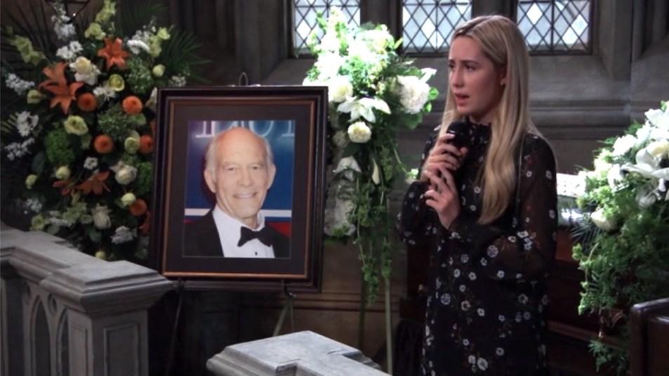 GH Josslyn singing Mike funeral