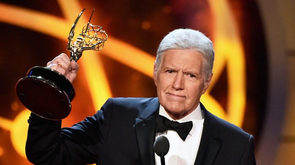 Alex Trebek Emmy Award