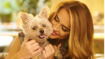 Chrishell Stause Dog 1