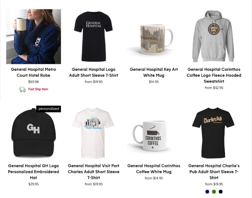 Gh store items